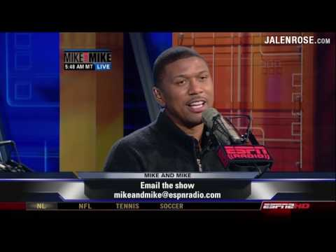 Jalen Rose talks about his father, former NBA player Jimmy Walker - Mike & Mike 5/15/09