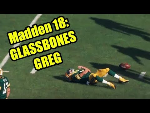 Madden 18: Glassbones Greg (Lowest Injury Rating, Highest Injury Sliders)