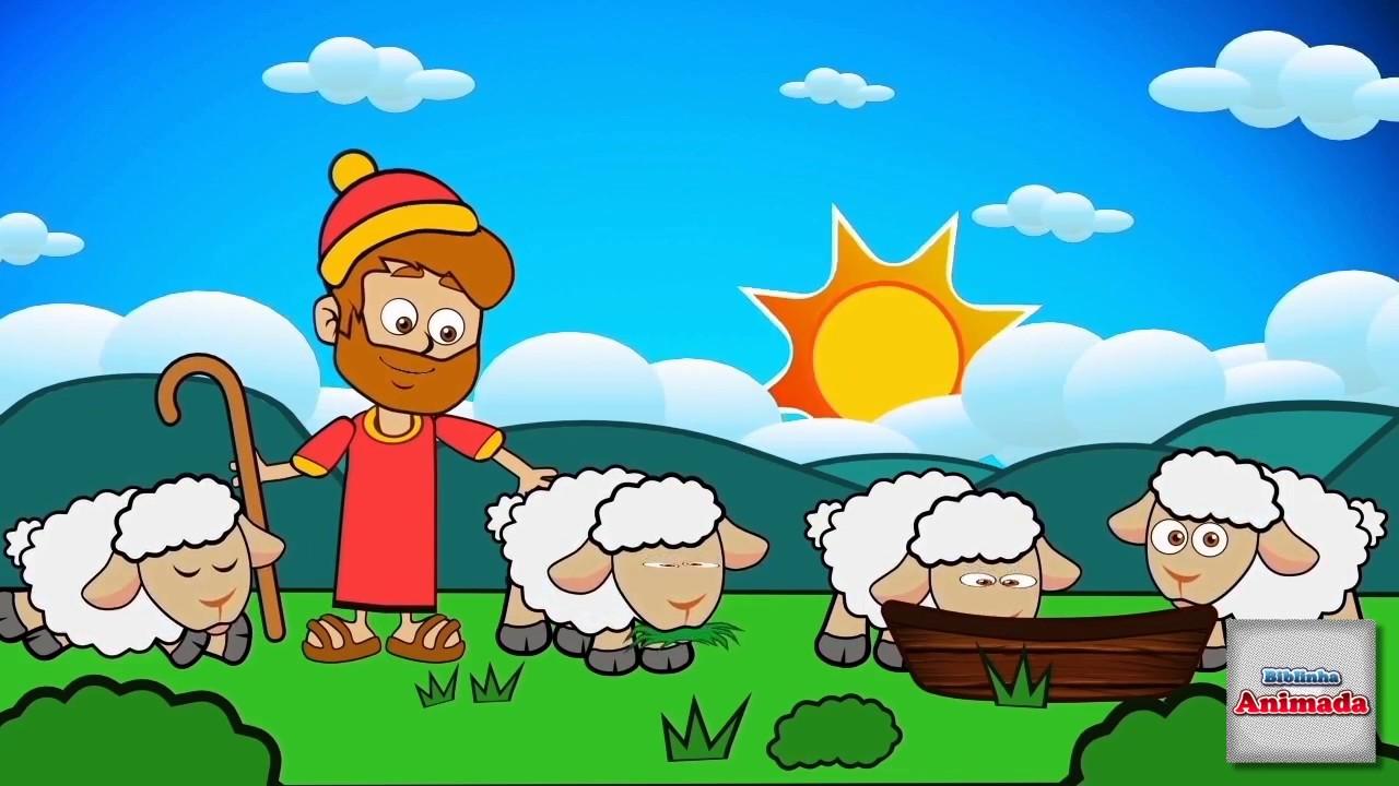 Historinha O Pastor E As 100 Ovelhas Biblinha Animada Youtube