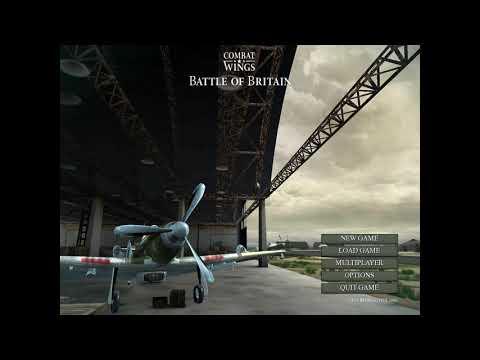 Combat Wings: Battle of Britain - Menu |