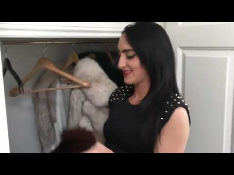 Beauty Woman Love Fur Coats