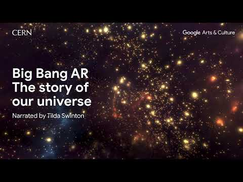News: Google & Actress Tilda Swinton Help CERN Tell the Story of the Big Bang in Augmented Reality