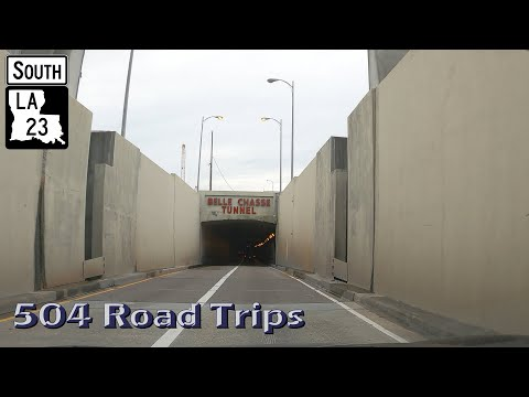 Road Trip #641 - Louisiana Hwy 23 South - Belle Chasse (Tunnel)