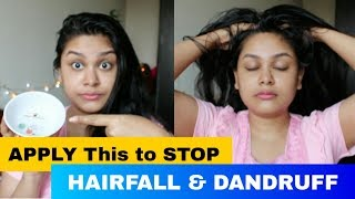 APPLY This To STOP HAIRFALL & DANDRUFF | HAIR MASSAGE To GROW HAIR FAST & LONG | HairCare