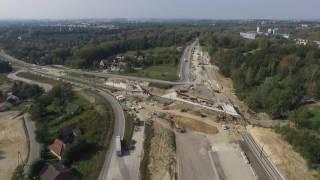 Okiem Drona - Inwestycje w Krakowie 2016