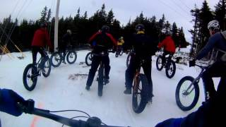 Fatbiking Newfoundland - The Pippy Snow Bike Festival 2017