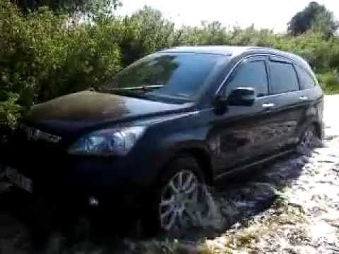 honda crv 4x4 offroad honda cr v water offroad youtube. Black Bedroom Furniture Sets. Home Design Ideas