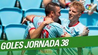 All goals matchday 38 laliga santander 2017/2018