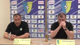 Mezőkövesd Zsóry - Paksi FC (3-2) sajtótájékoztató