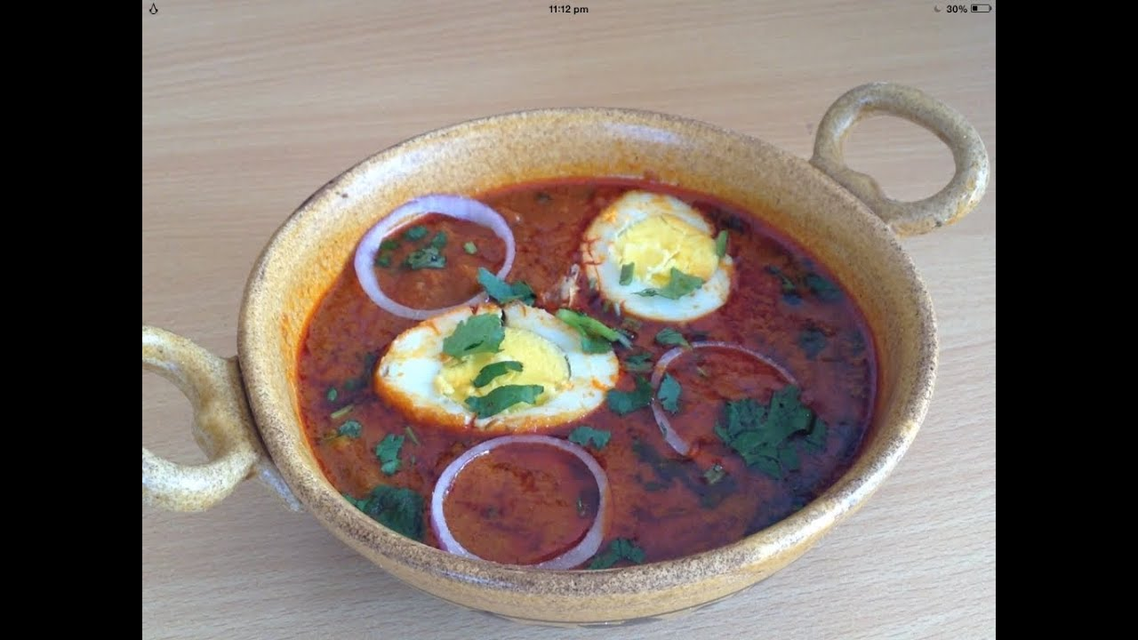 Dhaba style egg curry or anda curry recipe by chef shaheen youtube forumfinder Images