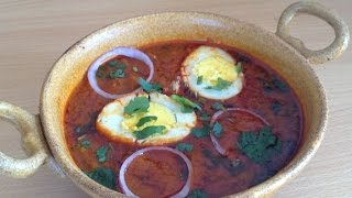 Dhaba Style Egg gravy(Anda curry) Recipe By:- Chef Shaheen