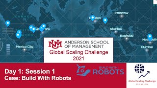 GSC 2021 Day 1 | Session 1 - Case: Build With Robots