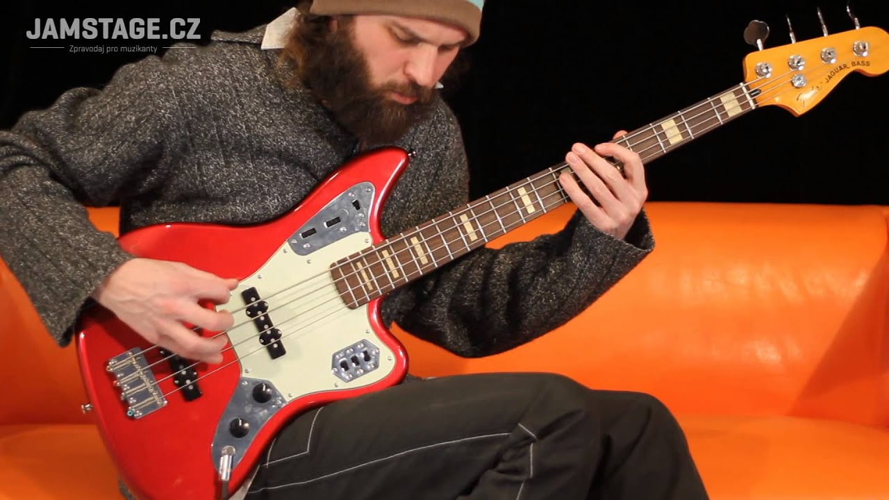 Fender Deluxe Jaguar Bass Jaryn Janek Youtube