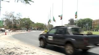 Zambia prepares for the burial of Michael Sata
