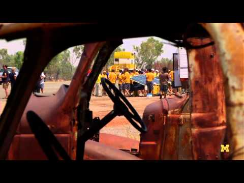 Welcome to the Outback - U-M Solar Car Races Across Australia