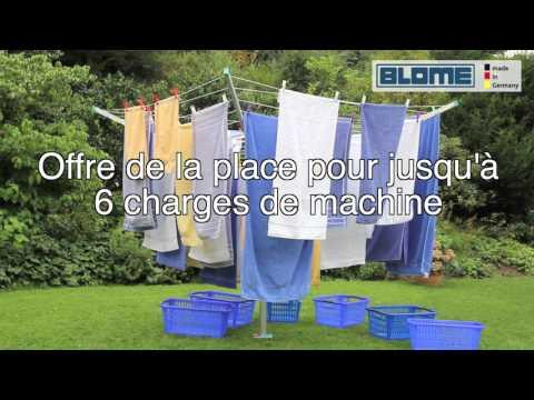Blome Sechoir Parapluie Primera Français Youtube