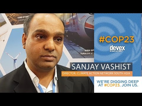 Sanjay Vashist, Climate Action Network South Asia