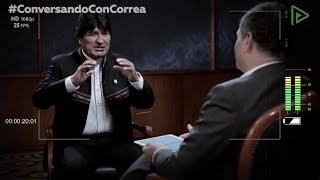 ¿Qué temas abordarán Rafael Correa y Evo Morales?
