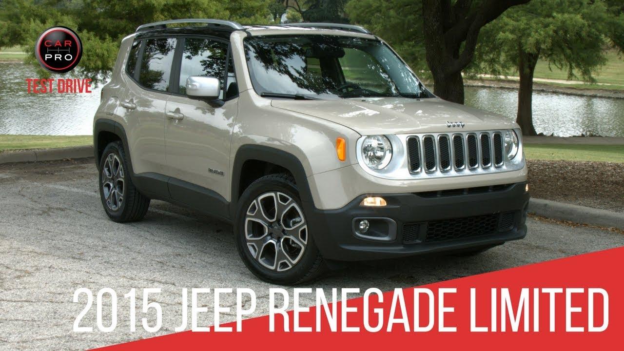 Jeep Renegade Limited >> 2015 Jeep Renegade Limited Test Drive