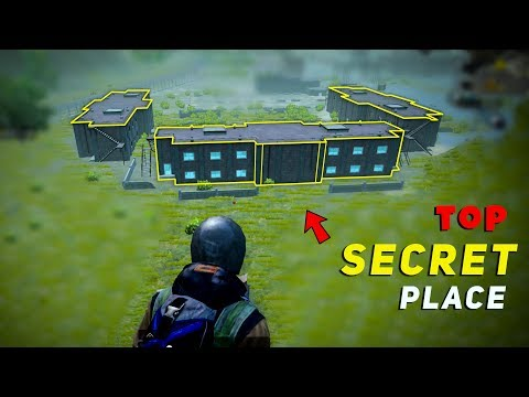 Top 5  Secret Places In Military Base    Pubg Military Base Tip And Tricks