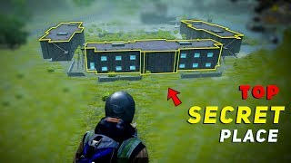 Top 5 Secret Places In Military Base || Pubg Military Base Tip And Tricks