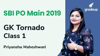 SBI PO Main 2019 | Important Question from GK Tornado | Class 1 | Priyanshu Maheshwari