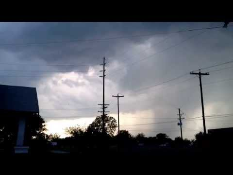 Blackwell Storm Clouds 5/19/2013 time lapse.
