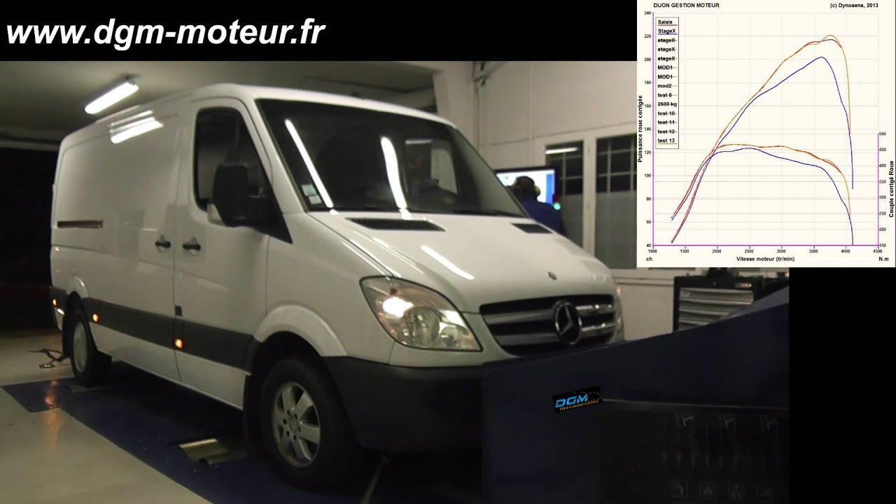 reprogrammation mercedes sprinter 218 cdi dijon gestion moteur youtube. Black Bedroom Furniture Sets. Home Design Ideas