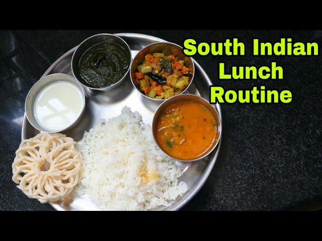 South Indian Lunch Routine #3 | Simple veg lunch routine in tamil #lunchroutine #House2Home