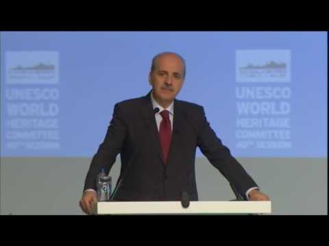 40th World Heritage Committee in Istanbul, Opening Ceremony