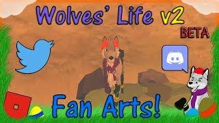 ROBLOX - Wolves' Life Beta v2 - Fan Arts! #26 - HD
