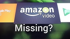 Loading Amazon Prime Video on the Nvidia Shield (if it's missing)