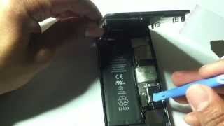 how to replace iphone 5 home flex cable
