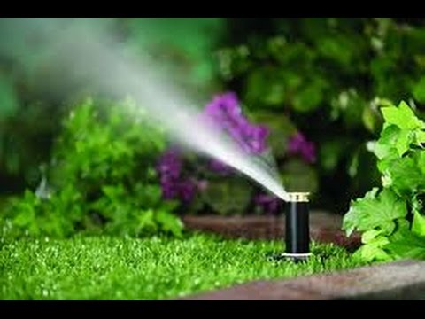 DIY Popup Sprinkler System For Less Than $20