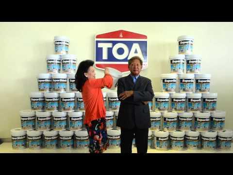 TOA PAINT (THAILAND) ICEBUCKET CHALLENGE TH | 26 AUGUST 2014