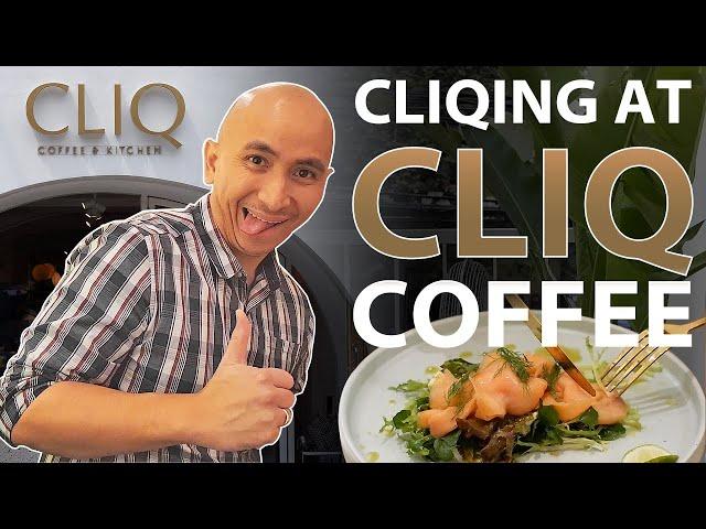 Cliqing at Cliq Coffee