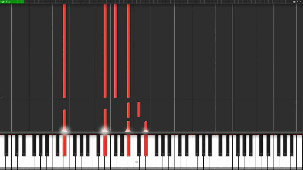 Wires Piano Tutorial - YouTube