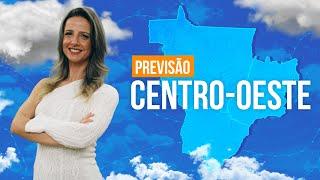 Previsão Centro-Oeste - Temperatura cai em Mato Grosso do Sul.