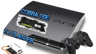 PS3 LIBERAR DOWNGRADE E3 FALSHER O COBRA ODE