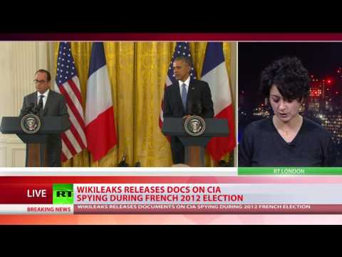 Wikileaks releases 'CIA espionage orders' for 2012 French presidential election
