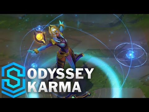 Odyssey Karma Skin Spotlight - League of Legends