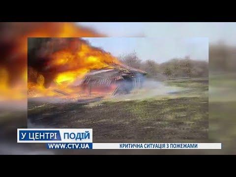 Телеканал C-TV: Критична ситуація з пожежами