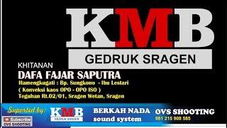 LIVE Streaming KMB gedruk sragen // BERKAH NADA // OVS