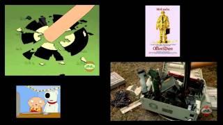 Family guy - Office space printer scene (Original JNL Video)