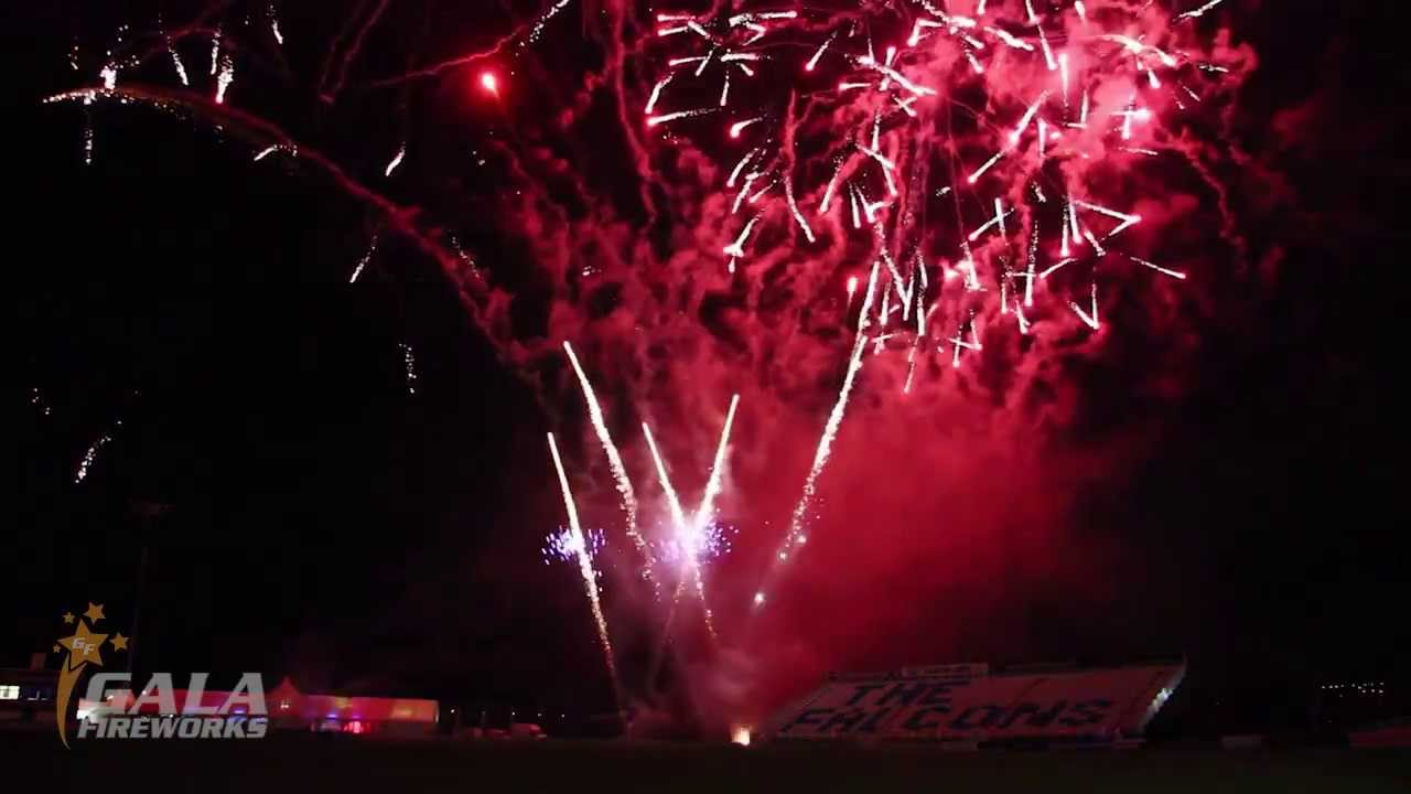 Firework display at Derby County Cricket Club 2013