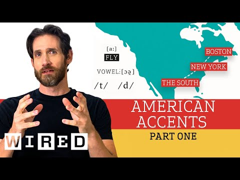 Accent Expert Gives a Tour of U.S. Accents - (Part One) | WIRED
