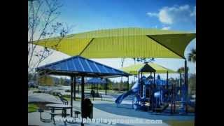 Shaded Commercial Playground Equipment