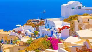 Earth Wind & Fire - Spread Your Love (2 Photos of Santorini, Greece)