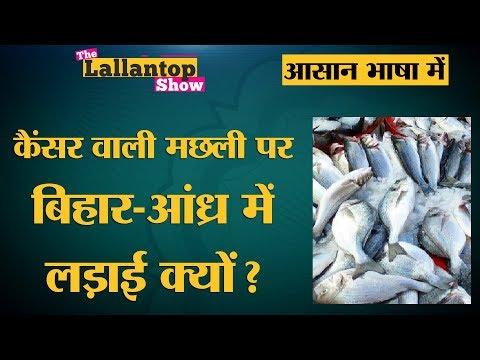 Bihar का मछली विवाद क्या है जिसमें Cancer की बात हो रही है? l The Lallantop