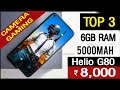Top 3 Best Gaming Smartphone Under 8000 in india 2021, best camera phone under 8000 in india 2021